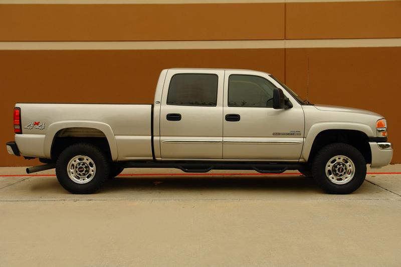 Buy used 06 GMC SIERRA 2500HD SLT CREW CAB DURAMAX DIESEL 4WD HEATED SEATS ONE OWNER in Houston ...