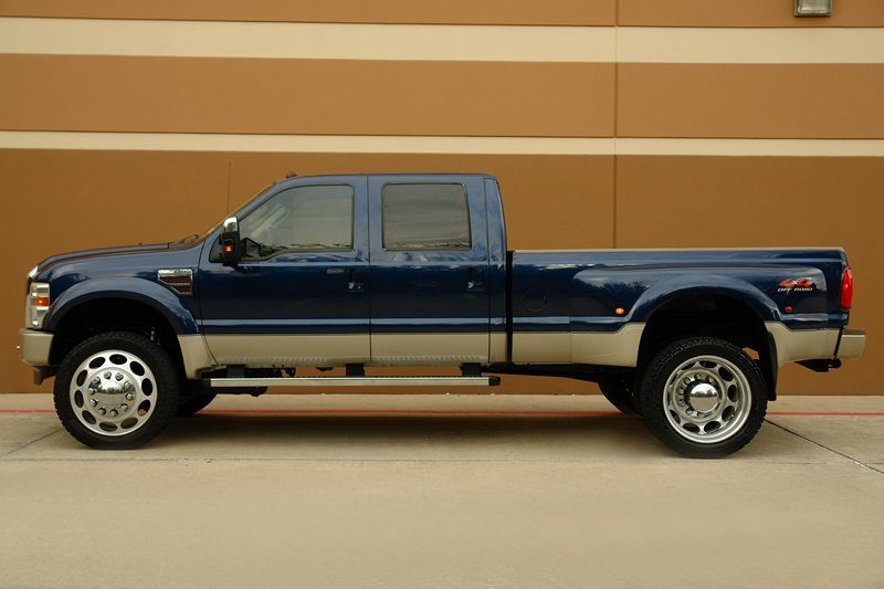 Purchase used 08 FORD F450 KING RANCH 4X4 OFF-ROAD CREWCAB ...