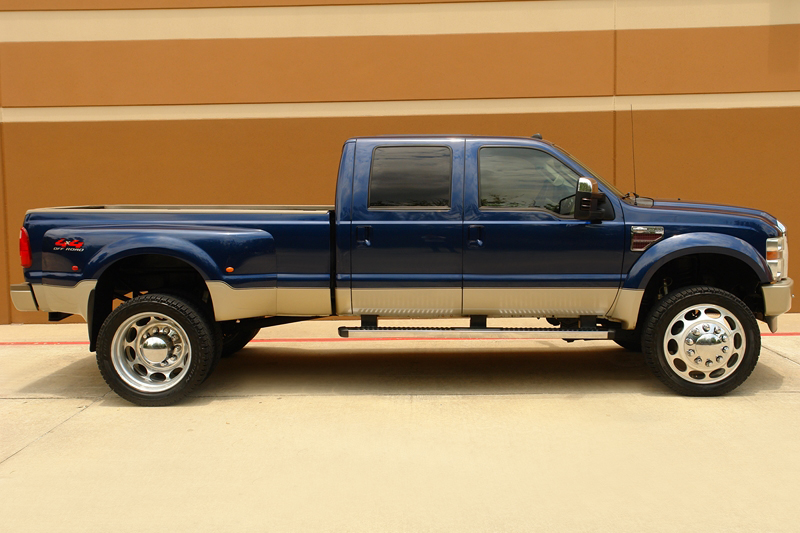 Buy used 08 FORD F450 KING RANCH 4X4 OFF-ROAD CREWCAB ...