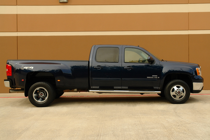 Ez Auto Finance >> Buy used 2009 GMC Sierra 3500HD SLT Crew Cab DRW 4WD Diesel 1 Owner Camera Bose Sound in Houston ...