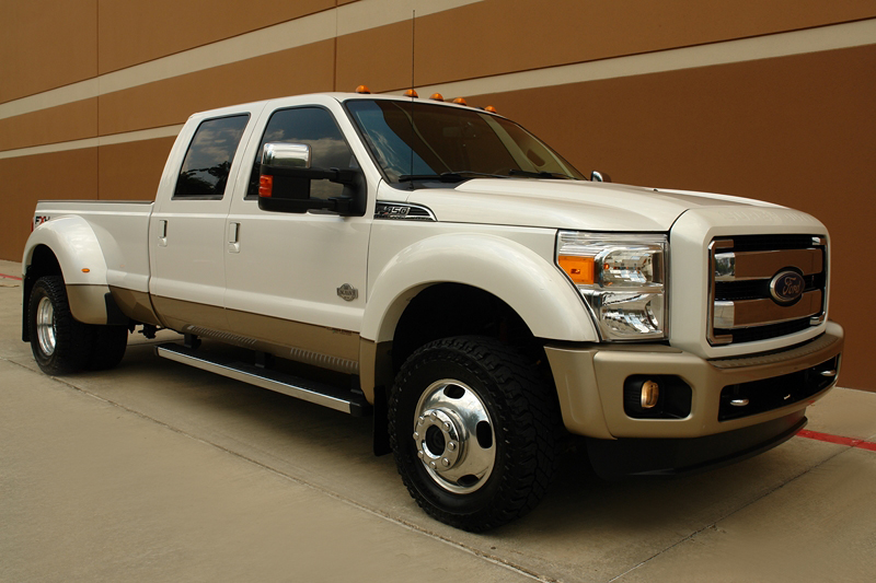 sell used 2011 ford f450 king ranch chrome pkg fx4 off. Black Bedroom Furniture Sets. Home Design Ideas